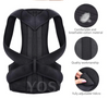 Image of Posture Corrector for Men and Women Back Support Back Brace For Pain Release
