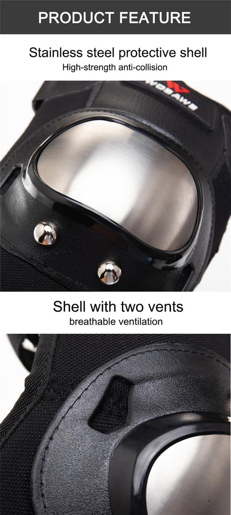 Motorcycle Knee Pads - Motocross Knee Pads