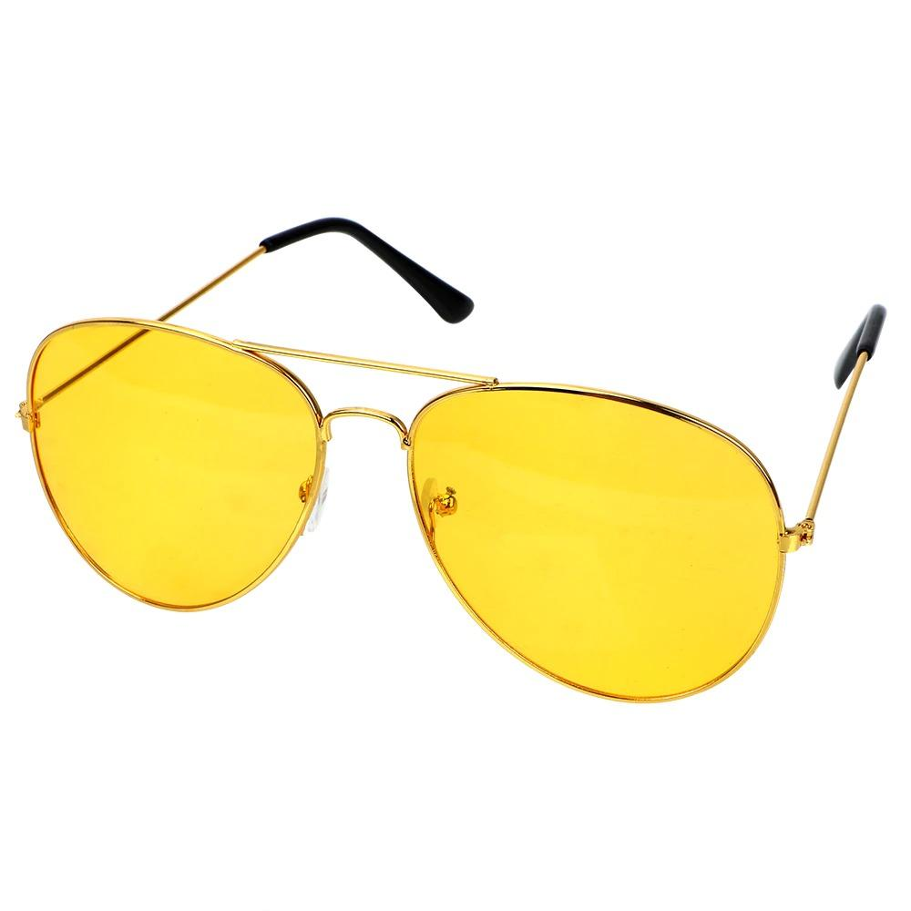 Night Vision HD Driving Glasses Yellow Night vision