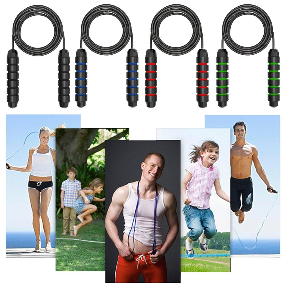 Sweat-Proof Jump Rope Premium Speed Skipping Rope