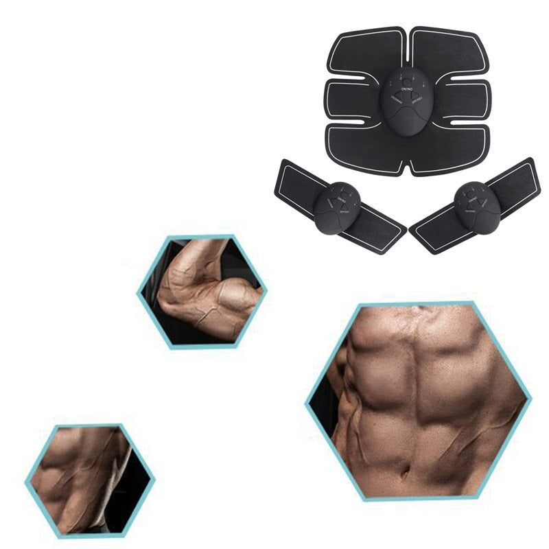 Muscle Massager Six Pack Abs | Training Body Shape Fit Set ABS Six Pad Abdominal