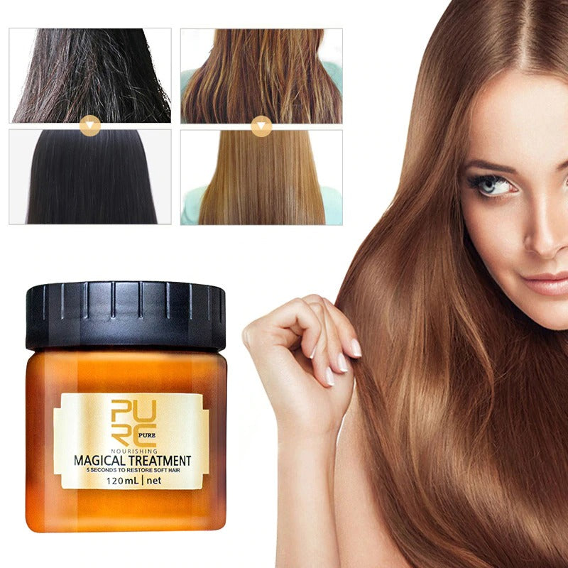 120ml Magical Keratin Hair Treatment Mask Effectively Repair Damaged Dry Hair Protein Treatment For Hair