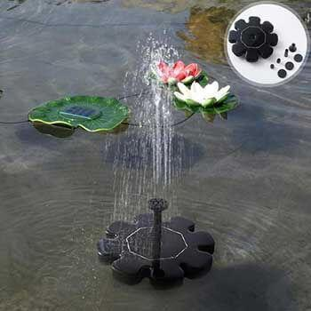 Solar-Powered Easy Bird Fountain Kit - Balma Home