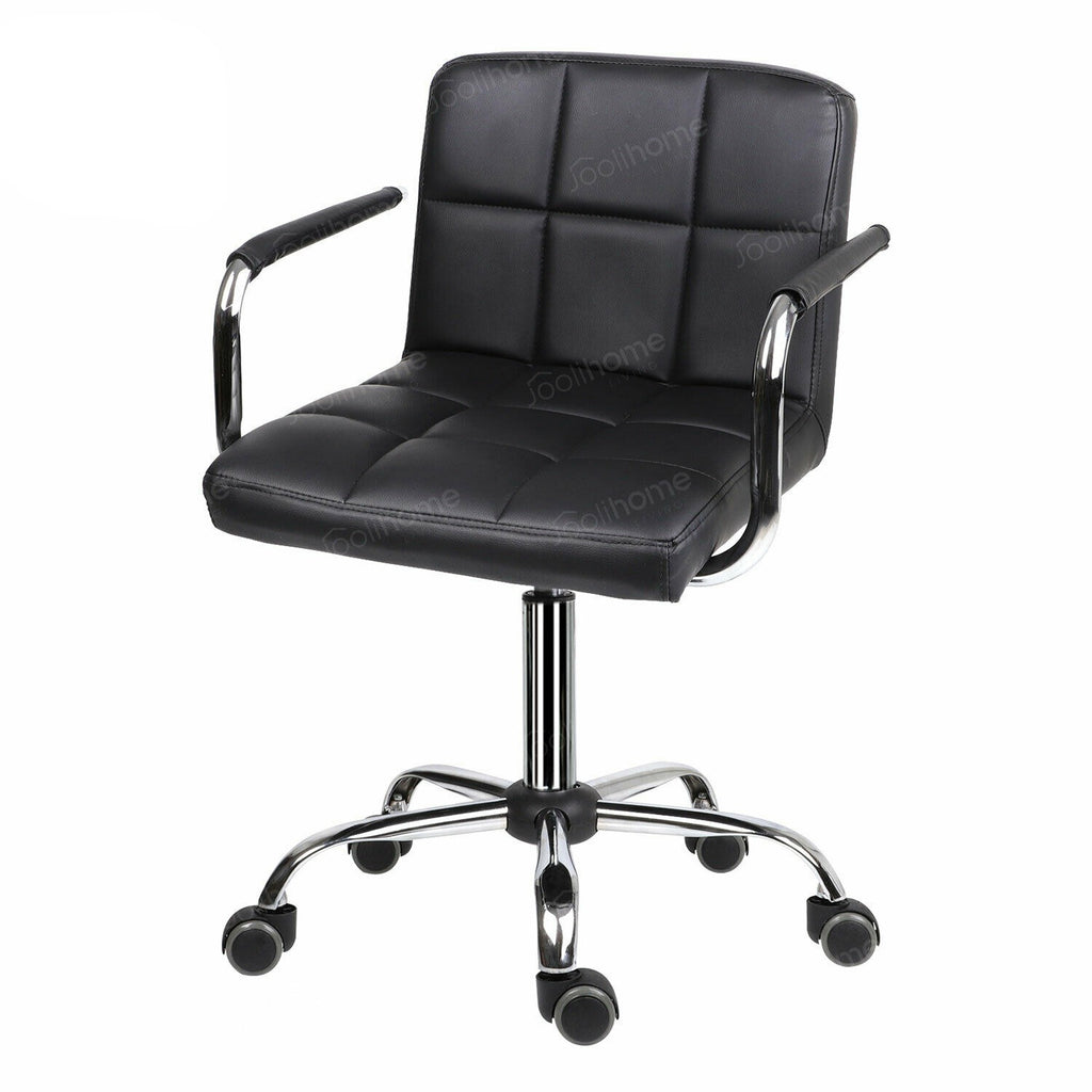 Comfortable Egonomic Office Padded Desk Chair Ideal for Bad Backs