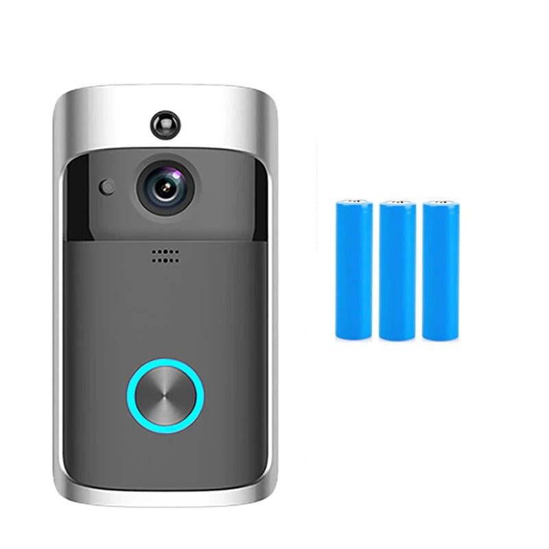 Smart Doorbell Wiring Camera Wifi Wireless Call Intercom