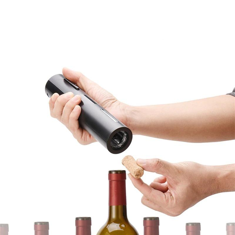 Electric Rechargeable Automatic Wine Opener with USB Charger