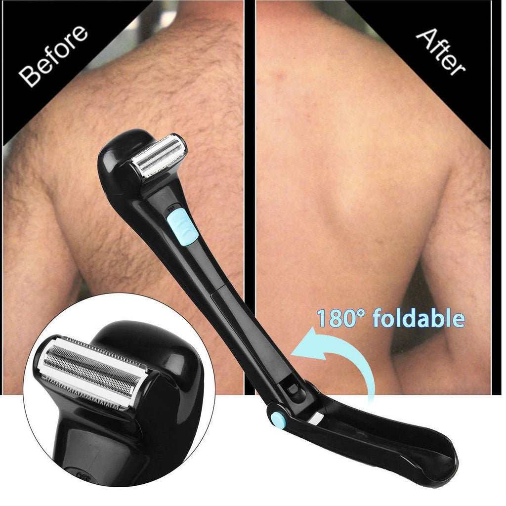 Back Razor Back Hair Shaver Electronic Back Hair Trimmer
