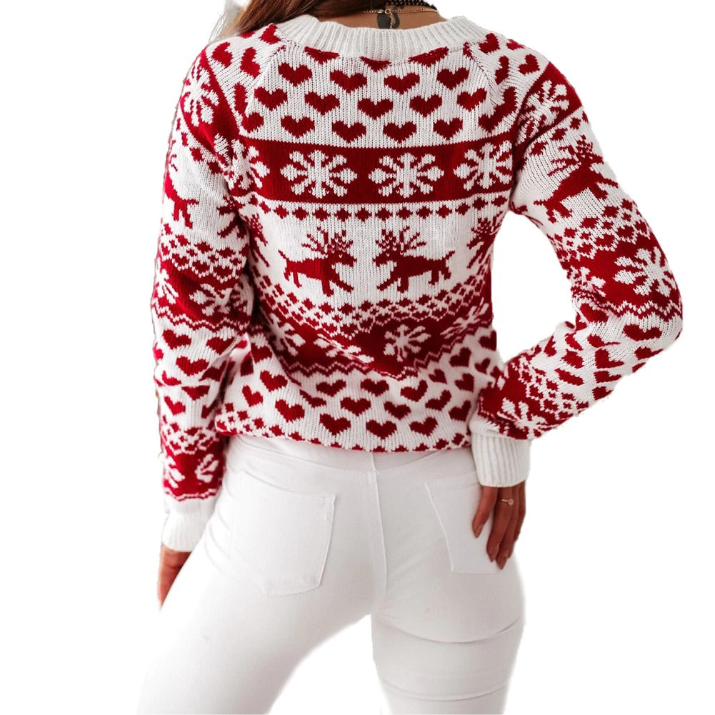 Womens Christmas Jumper - Christmas is here