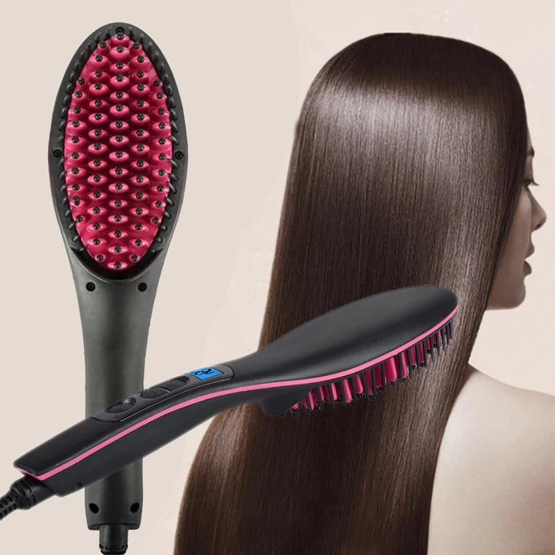 Electric Hot Comb Hair Straightener
