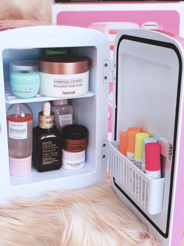 Makeup Mini Fridge - Cosmetic Fridge