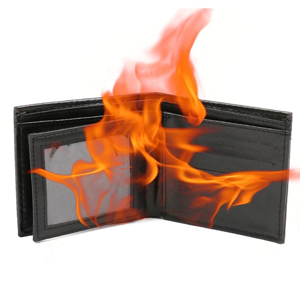 Flaming Fire Wallet