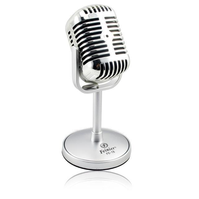 Retro Desktop Microphone