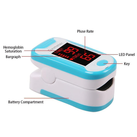 Medical Equipment Digital Finger Pulse Oximeter