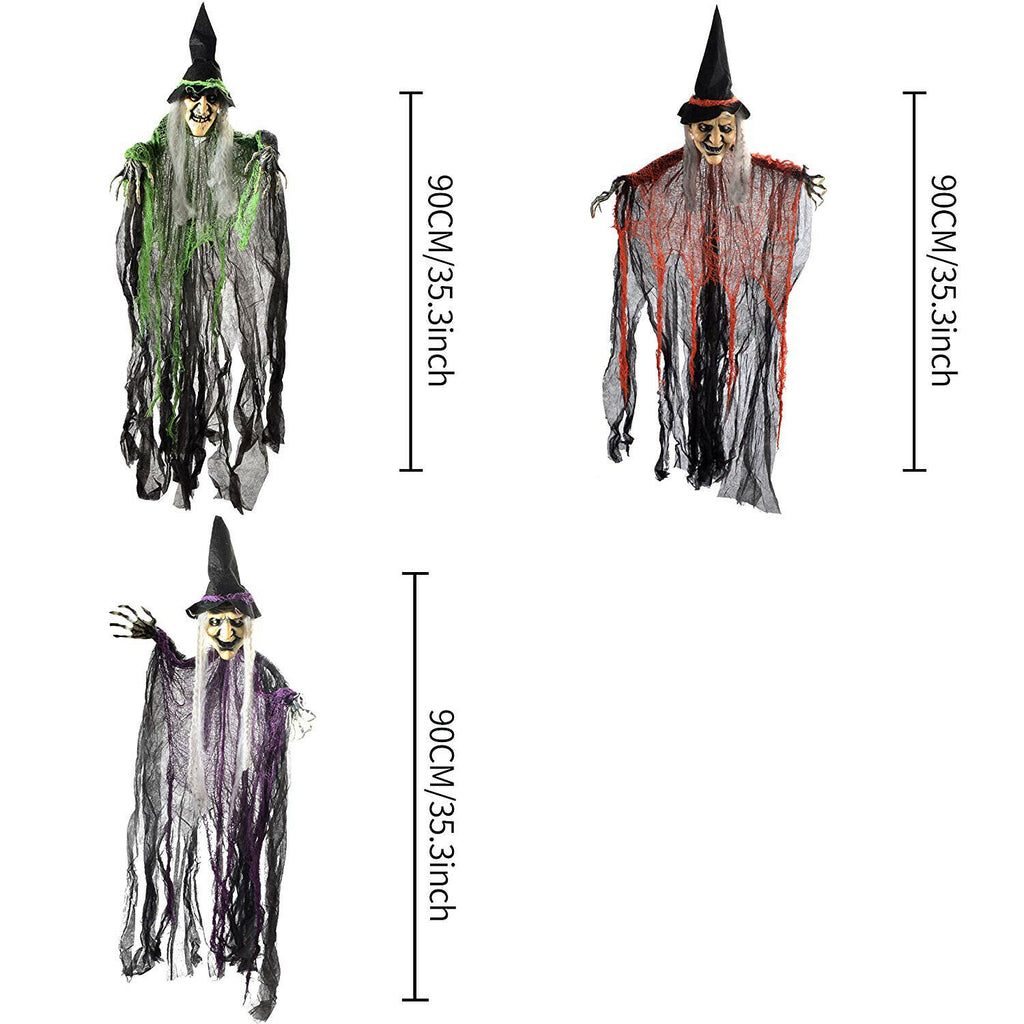 Witch Halloween Decor - Witch Decor
