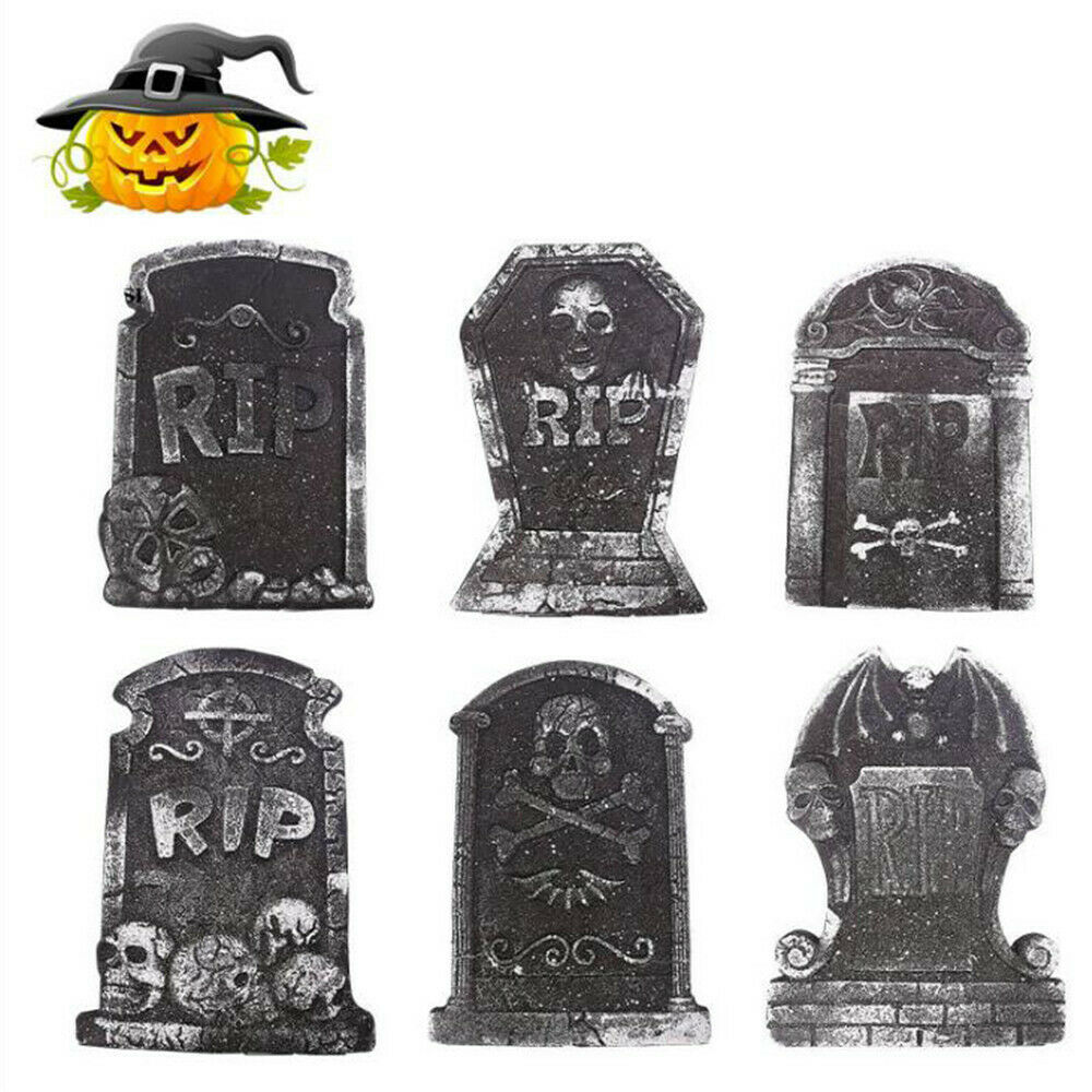 Halloween Graveyard Decorations - Tombstone Decoration