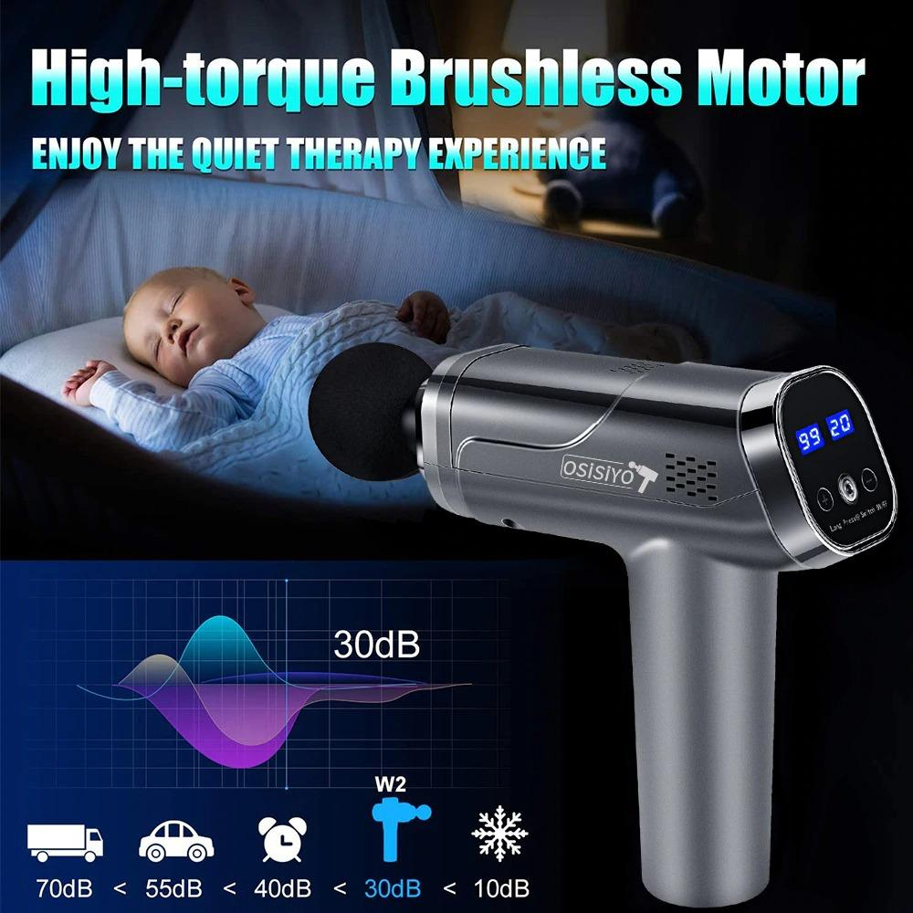 Deep Tissue Massager Percussive Muscle Massage Device electric muscle massager