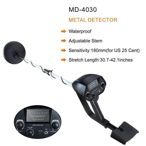 Waterproof Metal Detector Deep Sensitive Search Gold