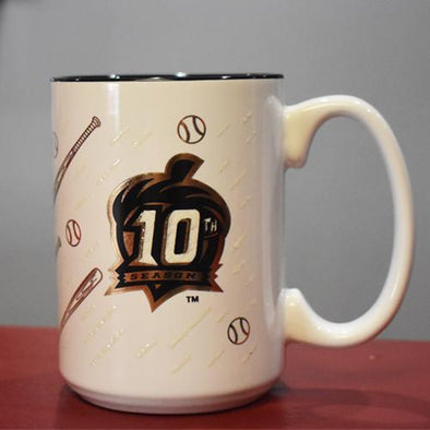 Richmond Flying Squirrels 10th Season Coffee Mug