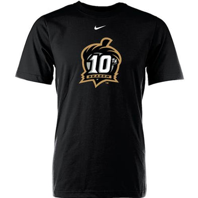 Richmond Flying Squirrels 10th Season Nike Gold Logo Tee