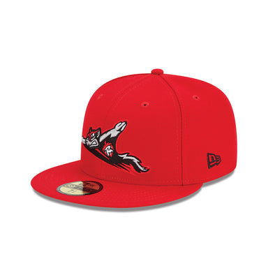 Richmond Flying Squirrels New Era 5950- Road On-Field Cap