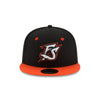 Richmond Flying Squirrels NE FS Orange and Black