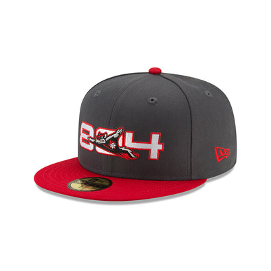 Richmond Flying Squirrels 804 New Era 59Fifty Fitted Hat