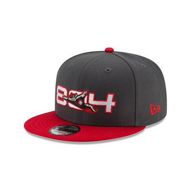 Richmond Flying Squirrels 804 New Era 9Fifty Snapback Hat