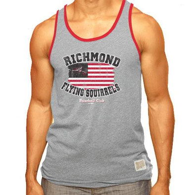 Richmond Flying Squirrels Flag Tank Top