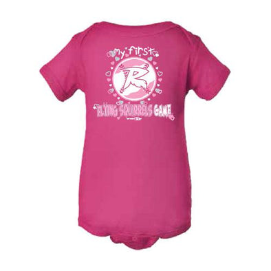Richmond Flying Squirrels Girls 1st Game Onesie