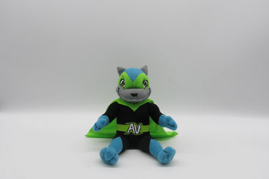 Richmond Flying Squirrels Lucha Nutzy Plush Mascot 9""