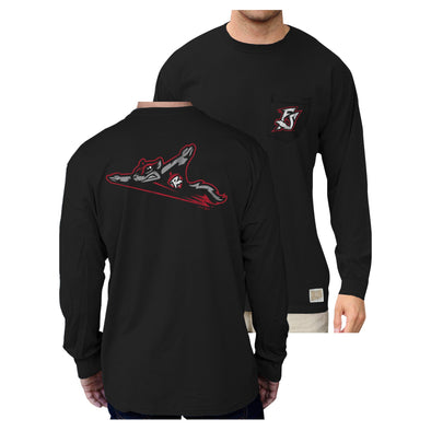 Richmond Flying Squirrels Frocket Long Sleeve Tee