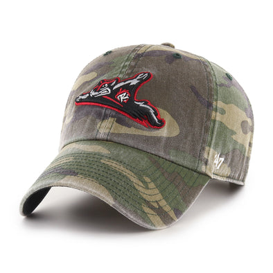 Richmond Flying Squirrels '47 Camo Clean Up