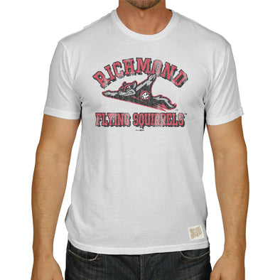 Richmond Flying Squirrels Men's Distressed Tee