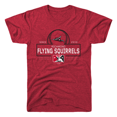 Richmond Flying Squirrels Baseball Block Tee