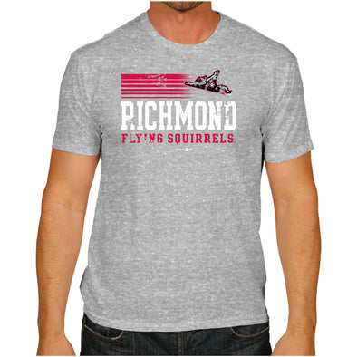 Richmond Flying Squirrels Stripes Tee