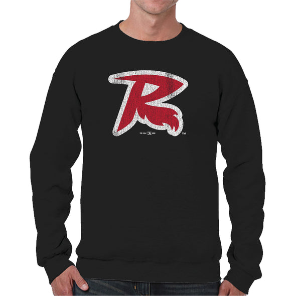 Richmond Flying Squirrels 'R' Logo Crewneck
