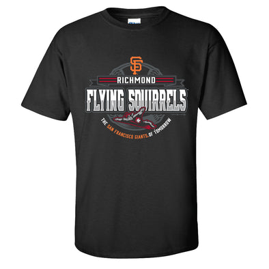 Richmond Flying Squirrels Giants of Tomorrow Tee