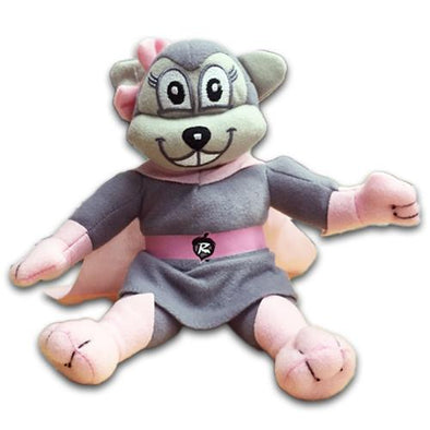 Richmond Flying Squirrels Nutasha Plush Mascot 9""