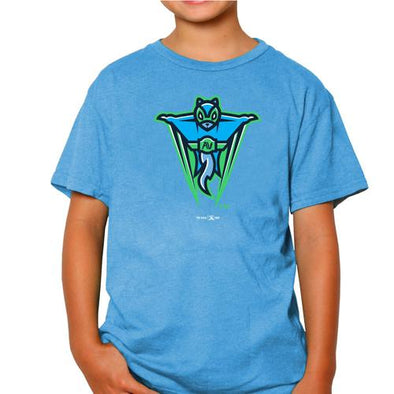 Richmond Flying Squirrels COPA AV Youth RB Primary Tee
