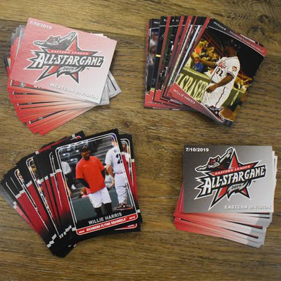 Richmond Flying Squirrels Flying Squirrels 4 Card Set Pack