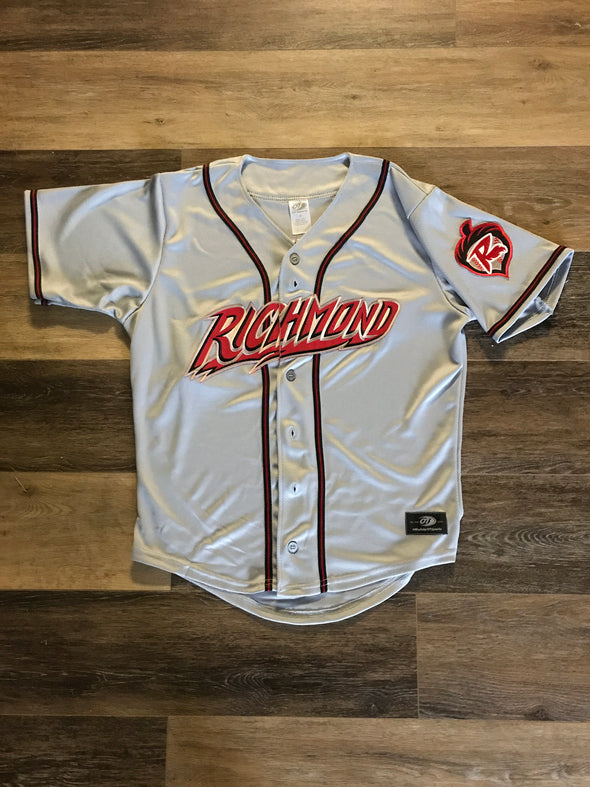 Richmond Flying Squirrels Road Adult Replica Jersey