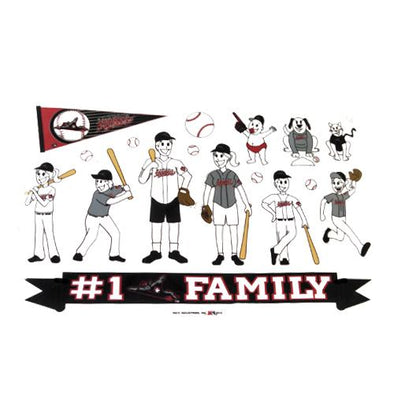 Richmond Flying Squirrels Spirit Family Window cling