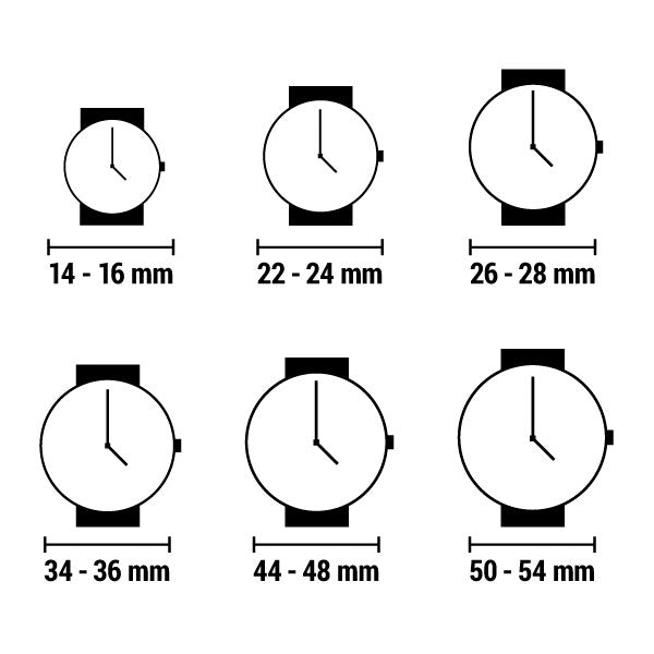 Unisex-Uhr Time-It TIT Cubic Prune (44 mm)