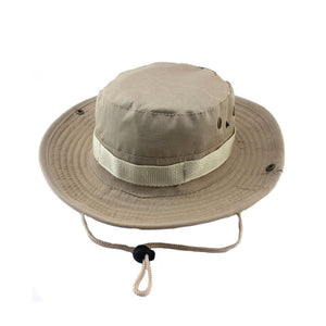 Jungle Hat / Jungle Cap / Bucket Hat / Bucket Cap / Camping Hat - ECEmbroid