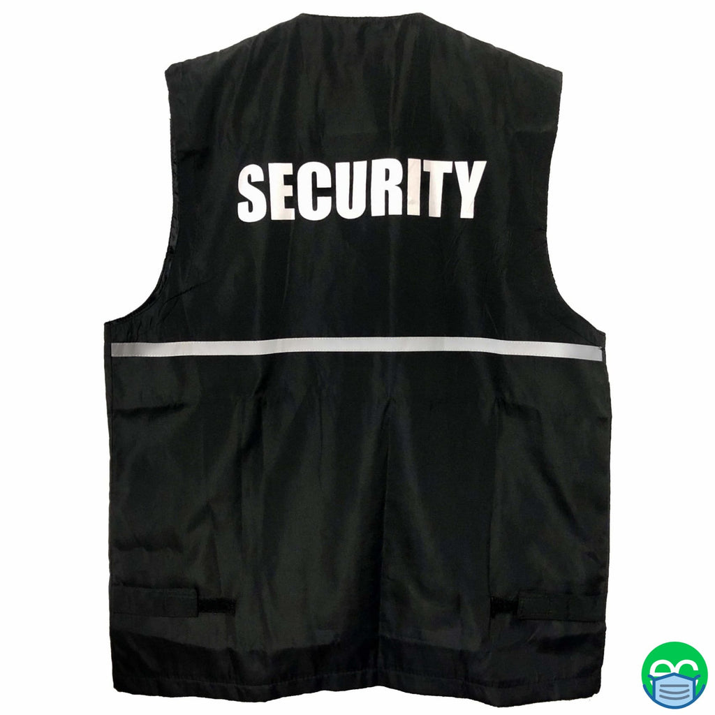Security Reflective Vest - ECEmbroid