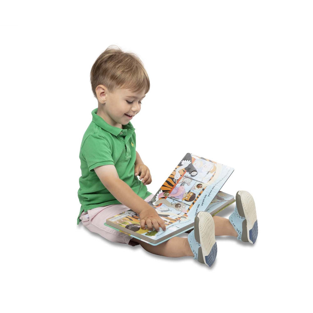Poke-A-Dot: The wheels on the Bus de Melissa & Doug - Boutique LeoLudo