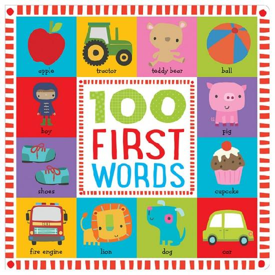 Livre - 100 First Words de Make Believe Ideas - Boutique LeoLudo