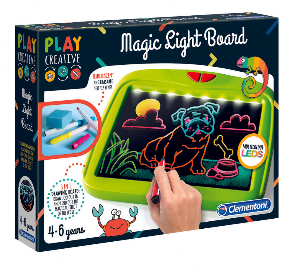 Magical Light Board (ENG) de Clementoni - Boutique LeoLudo