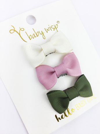 Mini boucles Charlotte - paquet de 3 - Boutique LeoLudo