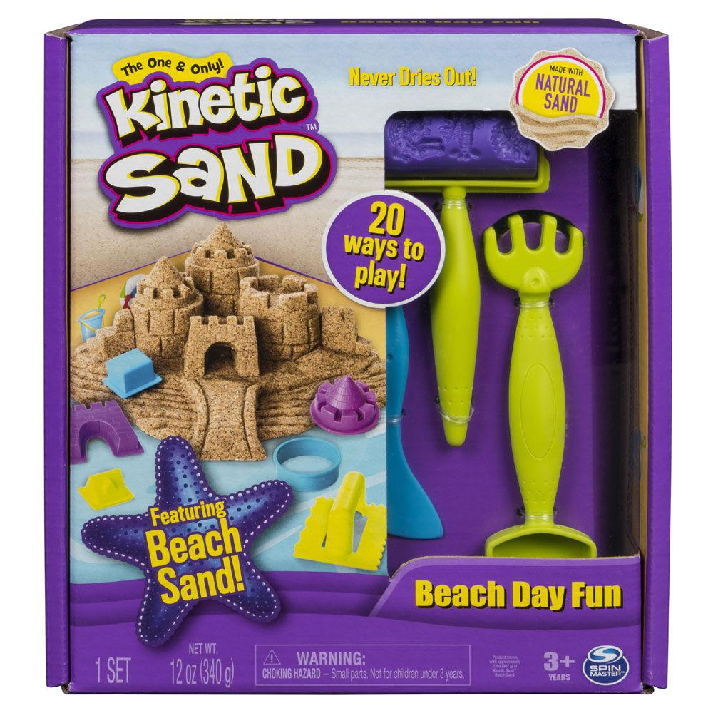 Kinetic Sand - Ensemble pour la plage-Bricolage-Kinetic Sand-Boutique LeoLudo